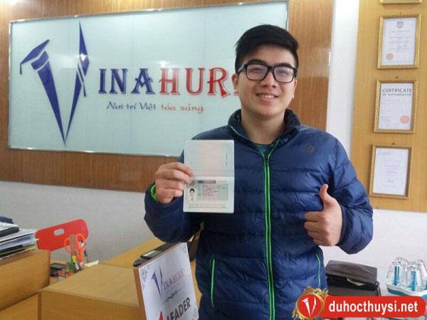 Visa du học Thụy Sĩ của bạn Phạm Việt Tú