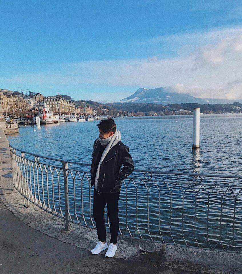 Cuộc sống của Trung tại thành phố Lucern Thụy Sĩ