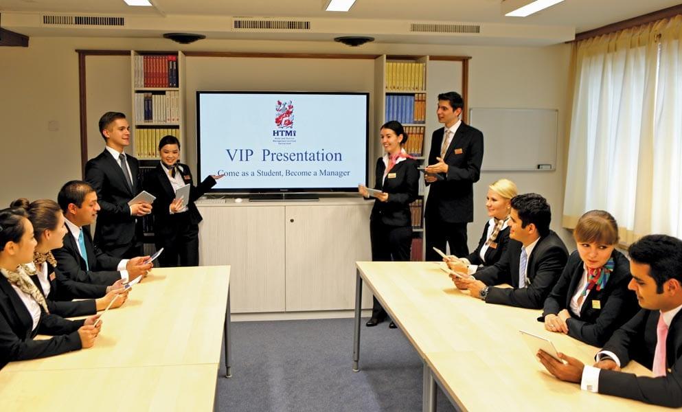 Phòng học HTMi Thụy Sĩ - Vinahure